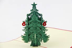 pop up tree aliexpress buy snow tree christmas cards 3d christmas trees