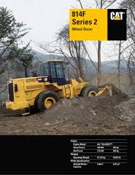 wheel dozer caterpillar equipment pdf catalogue technical
