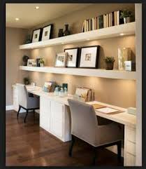 Diy Built In Desk Plans Contrast Your White Built In Desk With Wooden Floors While