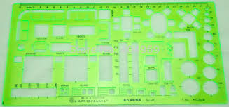 matric 1 50 scale technical architectural drawing template stencil