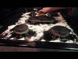 how to remove grease from the top of kitchen cabinets how to clean a black stove top in just 5 steps