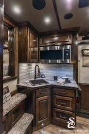 cer trailer kitchen ideas if you like a plainer look outlaw conversions can do that