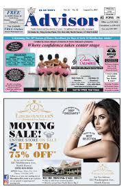 the advisor august 15 2017 by the advisor newspaper issuu