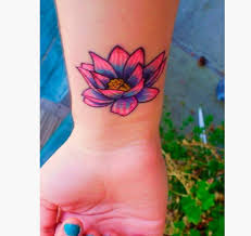 15 flower wrist tattoos ideas
