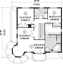 turret house plans revival with turret 80449pm architectural designs
