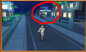 Meme Background - the new pokemon center seen far away in the background pokémon