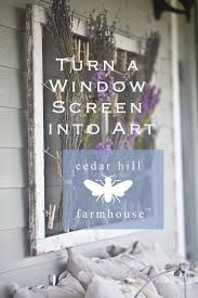 Using Old Window Frames To Decorate Best 25 Window Screen Crafts Ideas On Pinterest Painted Screens