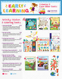 usborne books u0026 more early learning flyer by suzanne howard edc