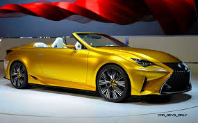 yellow lexus is 2014 lexus lfc2 concept cabrio is truly miraculous a design so