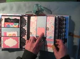 Small Scrapbook Album Waterfall Scrapbook Mini Album Tutorial Available Youtube