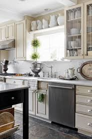 kitchens collections vintage chic home tour kitchen collection house beautiful and