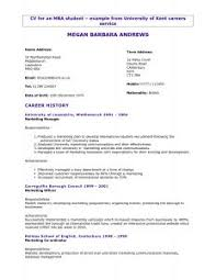 Example Resume Templates by Resume Writing Free Online