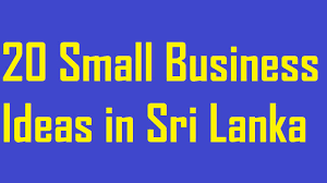 Small Home Business Ideas For Moms - 20 small business ideas in sri lanka youtube