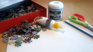 wall decoration with puzzle pieces the creative studio