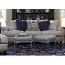 rc willey sofa classic blue silver striped sofa quincy rc willey furniture store