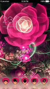 themes for android phones download pink flower theme for your android phone clauncher