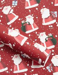 luxury christmas wrapping paper santa jumbo christmas wrapping paper 14m m s