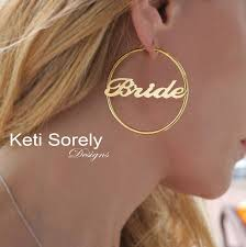 Hoop Earrings With Name 678 Best My Shop Images On Pinterest Rose Gold Initials And