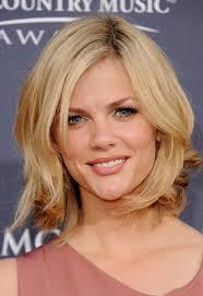 information on shoulder length hair for older women strawberry blonde medium length hairstyle for older women