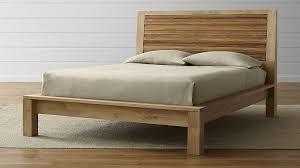 Crate And Barrel Platform Bed Outstanding Blair Storage Bed Crate And Barrel Inside Frame