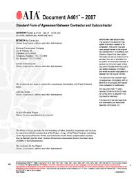 subcontractor agreement forms and templates fillable u0026 printable