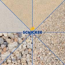 Schicker Bad Berneck 25 Kg Aquarium Sand Kies Natur Beige Kantengerundete Qualitätsware