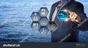 blue chip civil engineer plugging smart stock photo 633682925