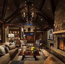 mountain homes interiors rustic mountain home interior decor semenaxscience us