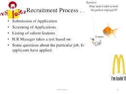 Crew Member Job Description For Resume by Mcdonalds