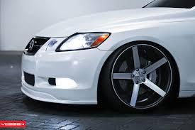 lexus gs tuning vossen wheels lexus gs vossen cv3r