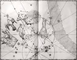 Constellations Map The Exquisite Drawings From The First Map Of The Entire Sky