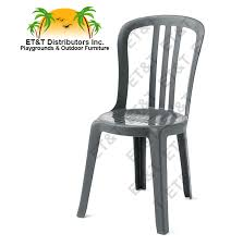 Resin Bistro Chairs Nice Miami Bistro Chair With White Grosfillex Resin Finish