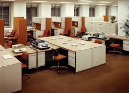 from 1800s to today how have office design trends developed over
