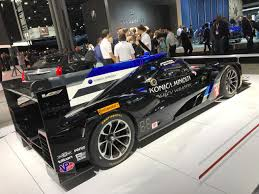 cadillac supercar cadillac brought its spectacular new race car to the new york auto