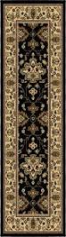 flooring cool orian rugs in black floral pattern and rectangle