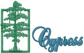 cypress tree embroidery designs machine embroidery designs at