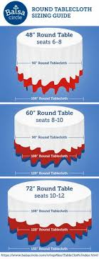 what size centerpiece for 60 round table great reference table cloth size and overlay size chart party
