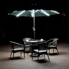 Lighted Patio Umbrella Lighted Patio Umbrellas Outdoor Goods