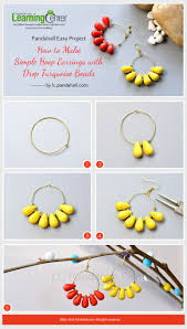 easy earrings best 25 how to make earrings ideas on diy earrings