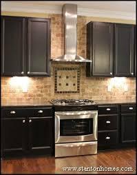 tile backsplash granite countertop u0026 oak colored cupboards bing