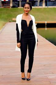 how to wear a jumpsuit 20 style tips on how to wear a jumpsuit this winter gurl com