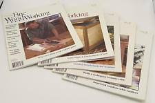 woodworking magazines ebay