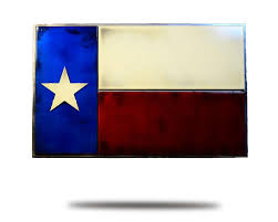 State Flag Of Texas Texas State Flag Hex Head Art