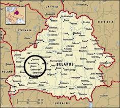 russia map belarus lachowicze belarus