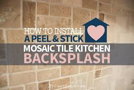 Kitchen Peel And Stick Backsplash Self Stick Backsplash Tiles Peel And Stick Tiles Home Depot Home