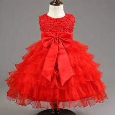 birthday dress summer solid baby vestidos new sofia princess party dress for