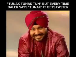 Tun Tun Memes - tunak tunak tun sped up every time they say tunak youtube