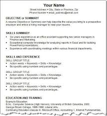 teenage resume example simple examples of resumes human resources