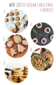 wish list wednesday vegan christmas cookies a sunshine mission