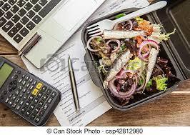 dejeuner bureau boîte déjeuner bureau boîte quinoa sain mélange images